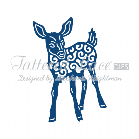 Tattered Lace Die Fawn - D866